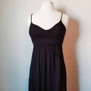 Kaitlyn Black Tank Maxi Dress